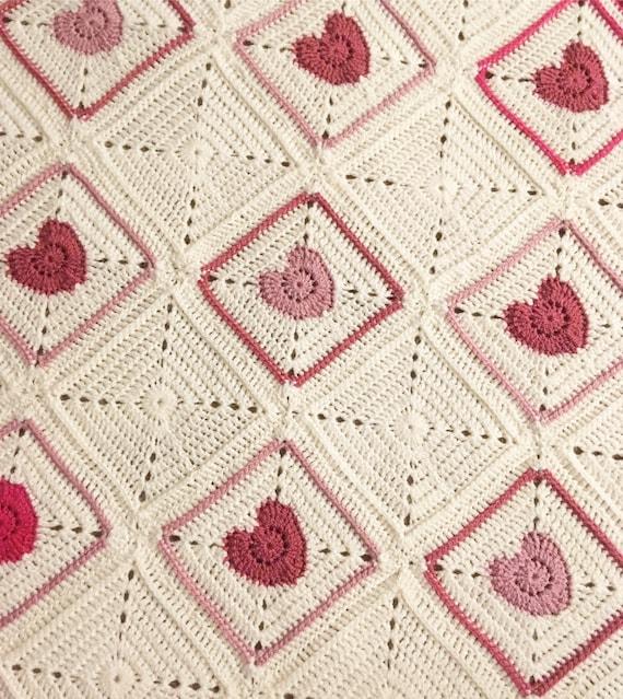 Joy In My Heart Blanket Crochet Pattern | Etsy