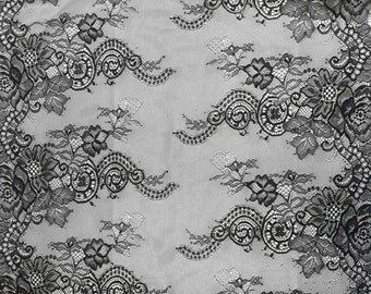 Gorgeous French Chantilly   Lace - 64cm  Wide, Imported