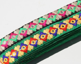 Indian border for decoration and finishing. 3 cm of width.