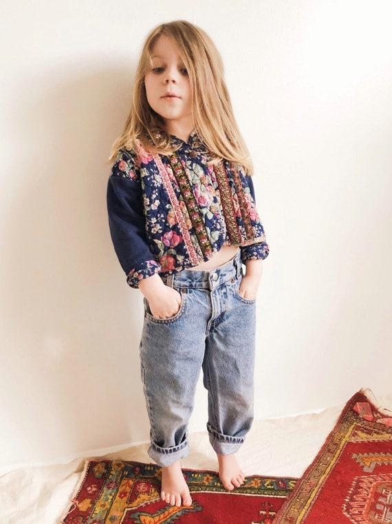 Vintage 1990s Floral Quilted Jacket / 4