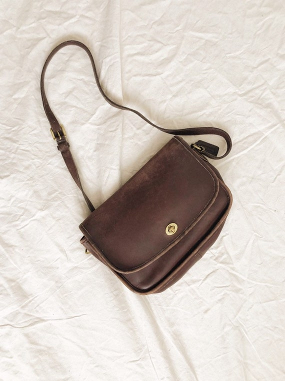 Vintage 1980s Coach Crossbody Bag