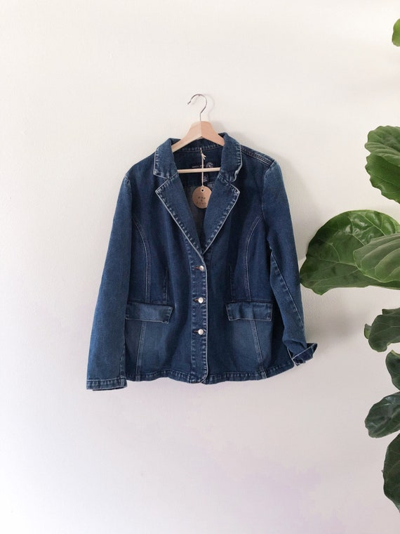Vintage 90s Denim Jacket // M