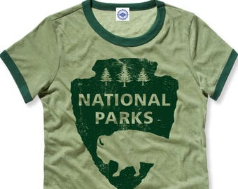 National Parks Women's Ringer Tee