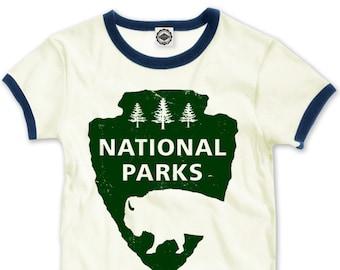 National Parks Women's Ringer Tee