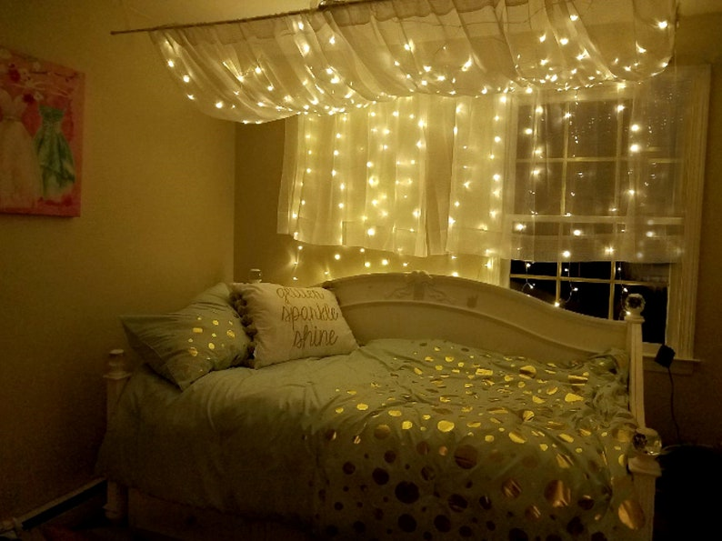 Hanging Lights For Bedroom | String Lights For Bedroom Fairy Lights Wedding Decor Etsy