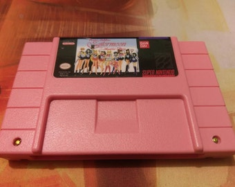 Sailor Moon: Another Story - Super Nintendo SNES - Repro English Translation - Reproduction