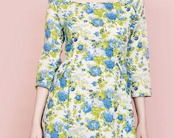 PDF Simple Sew Bardot Dress Sewing Pattern UK 8-20