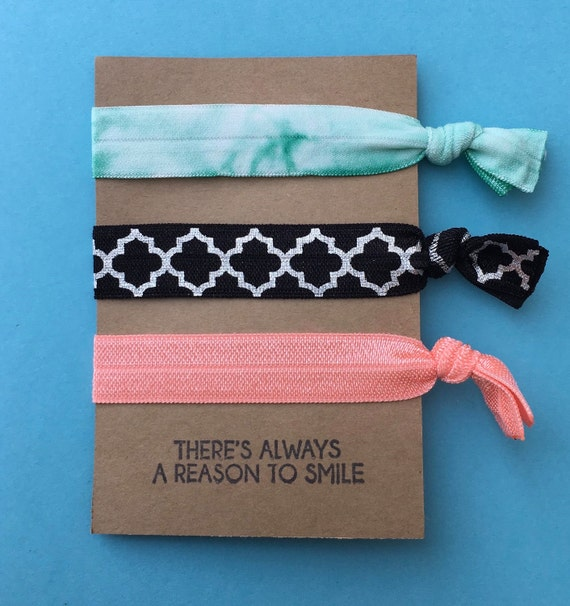 Hair Tie With Quote On It Perfect For Party Favors Stocking  16286dc5bd1