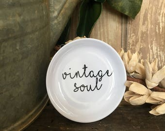 Vintage Soul Ring Dish
