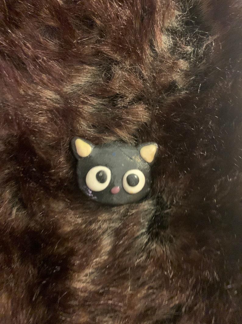 Kawaii Animal Clay Pins