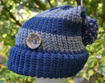 e549a124c4d40 Harry Potter Ravenclaw Adult Knit Hat - Two Styles