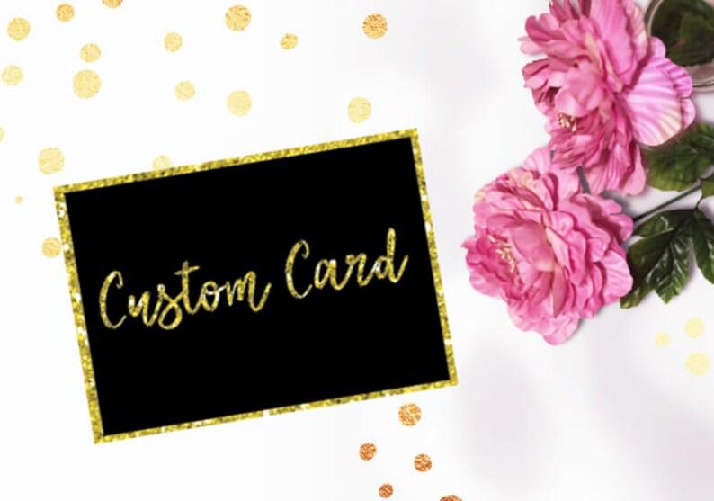 CUSTOM CARD\\\\Digital File\\\\Printable