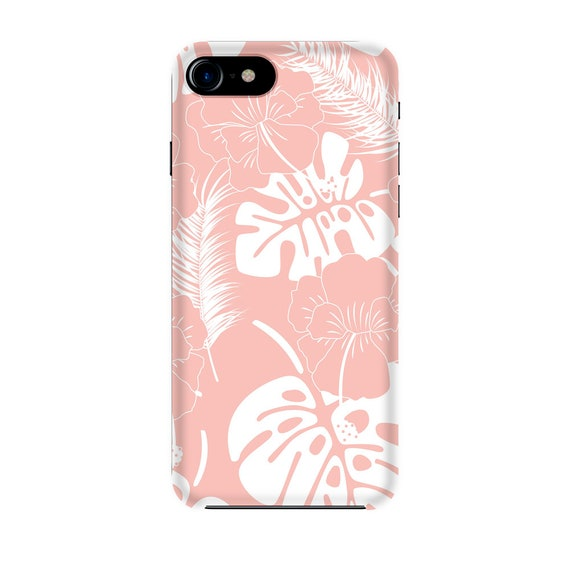 Pink pastel flowers pattern iPhone 11 case