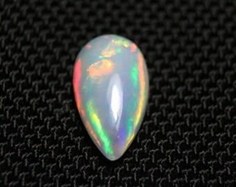 Welo Fire Opal 1.4Ct Ethiopian Opal Trillion Cabochon,8.5*8.5mm Natural Ethiopian Opal Cabochon TOP QUALITY