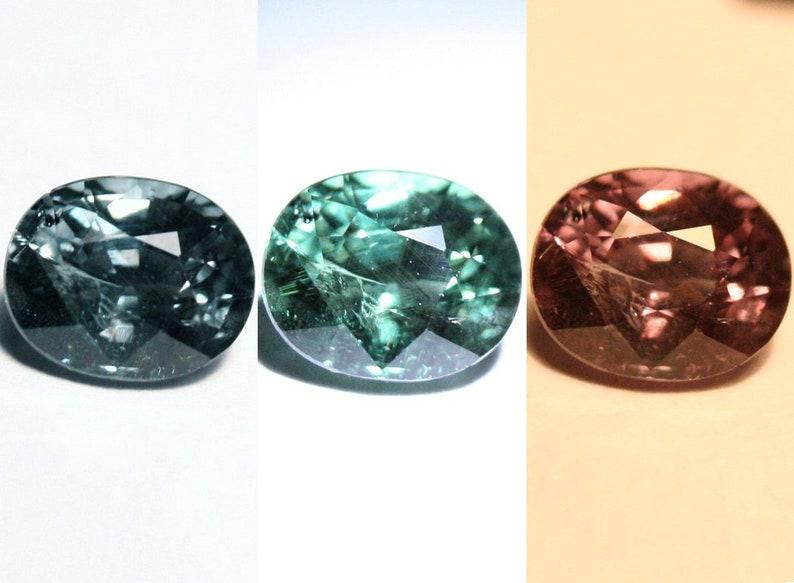 0.9ct Blue Colour Change Garnet Worlds Rarest Garnet 6x5mm Bekily Madagascar