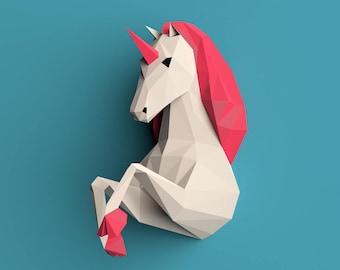 kiss mask template - unicorn mask etsy