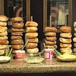 Bagel Stands for Bagel & Breakfast Bars - Holds 10-50 Bagels