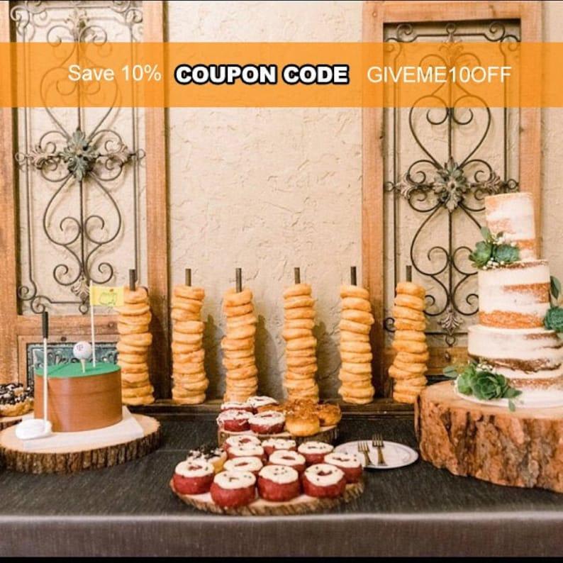 Donut Stand for Weddings   Donut Holders for Donut Bars & image 0