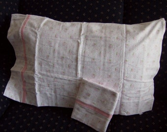 flannel pair of pillow cases
