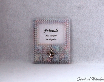 Friends Are Angels In Disguise - Fridge Magnet