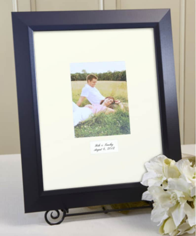 Contemporary Signature Mat White or Ivory Mat image 0