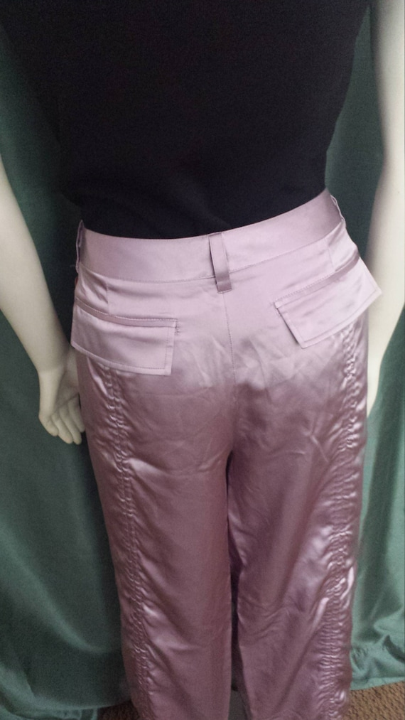 VTG LAUNDRYDesigner Pants/Size 12 Silk Pants/Women