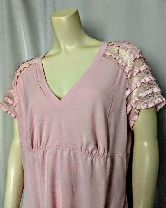 DKNY Women Pyjama Set,Rose Pink 2p Sleepwear,Desig