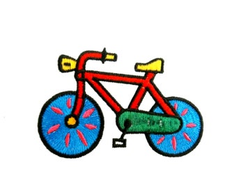 "Iron On Embroidered Patch VEHICLE /""SEGWAY RIDE/"" CYCLES RIDE"