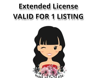 myCutieStore Extended License & not credit required. Cover 1 Set from our shop.