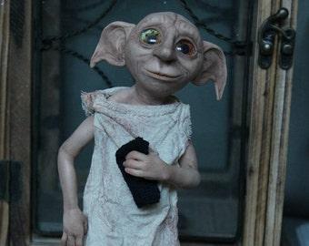 Dobby, the house elf. Dobby doll.
