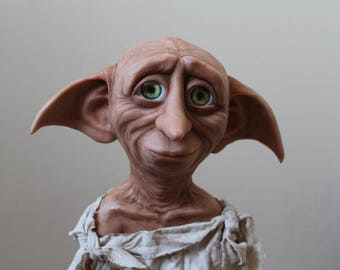 """Dobby doll, house elf. Statue Dobby. 18"""", 24 and 30 inches"""