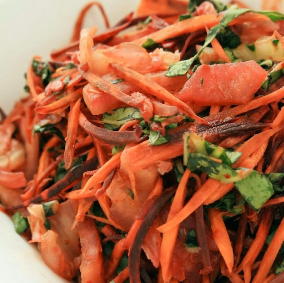 Kimchi Spice Mix Blend - Garlic, Ginger, Chilli, Pepper Medium Hot - 50g Pouch