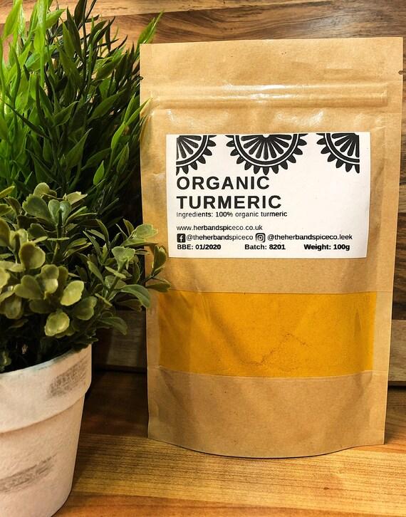 Organic Turmeric Ground Powder 100g