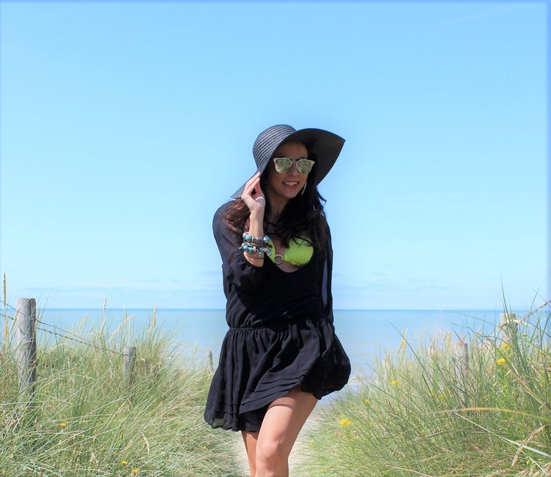 Birthday Gifts For Her La Vita E Bella Black Hat For Women