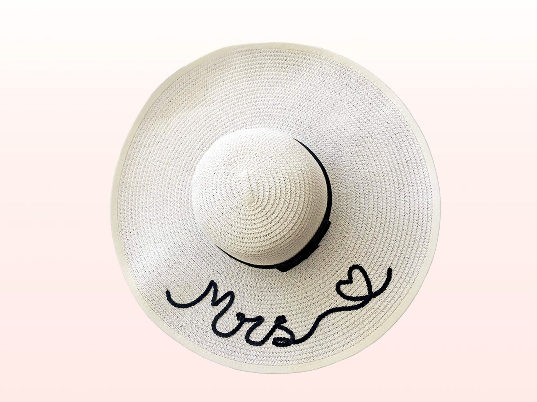 f86eaf5b82cc87 Mrs Hat Beach Honeymoon Gift Future Mrs Gift Idea Gift | Etsy