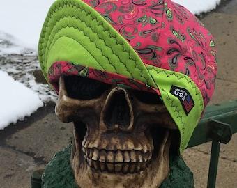 Melon Head - 100% Cotton Welding Cap - Reversible