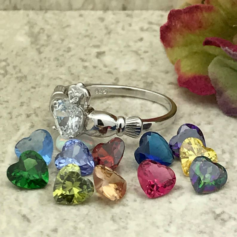 Celtic Irish Clddagh Engagement Ring Women/'s Claddagh Ring Sterling Silver Claddagh Ring Claddagh Ring Irish Claddagh Ring