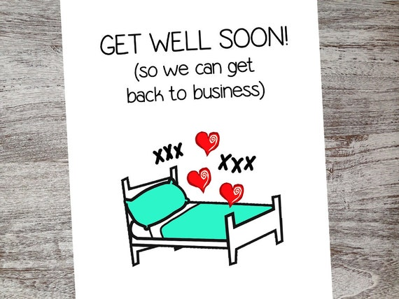 Sexy get well cards