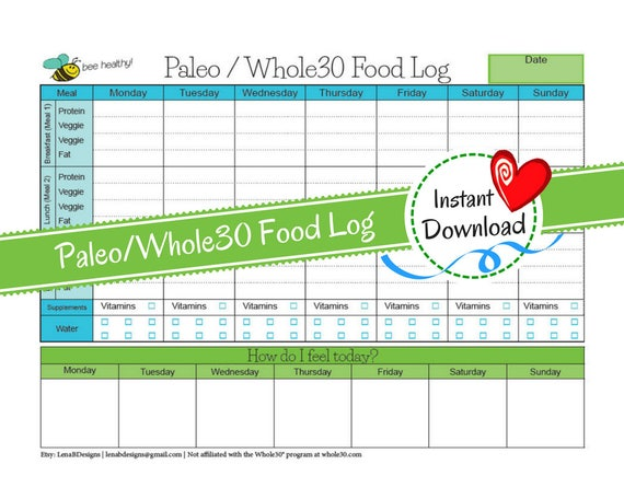 whole30 dieta intera cardapio pdf