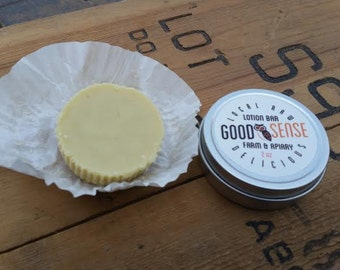 Farm Hands Lotion Bar - Made With Local, Sustainable Beeswax