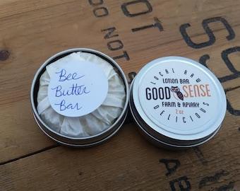 Bee-uty Gift Set: Farm Hands Lotion Bar + Honey Lip Balm
