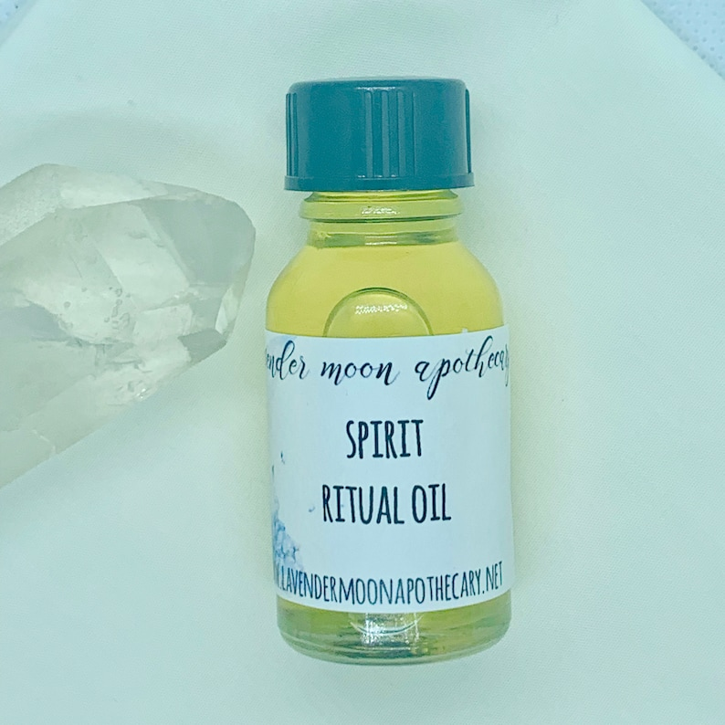 Spirit Ritual Oil - Get in Touch with Spirit, Increase Spirituality,  Divination, Channeling, Psychic Readings With Free Shipping