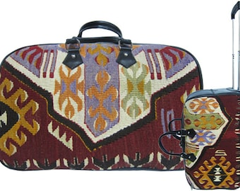 Etsy is a first! Leather and rug squeegee suitcases 210f5b4b8a6e1