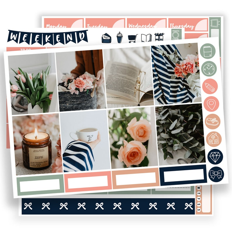 image relating to May Books Planner referred to as Candle and Guides planner sticker Erin Condren, reading through joyful planner kits planner sticker, comfortable EC vertical stickers,could peony weekly, sk083
