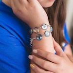 Custom Wrap Bracelet Photo Charm Bracelet Personalized Picture Bracelet Family Jewelry Multiple Photo Bracelet Custom Bracelet 9 Charm