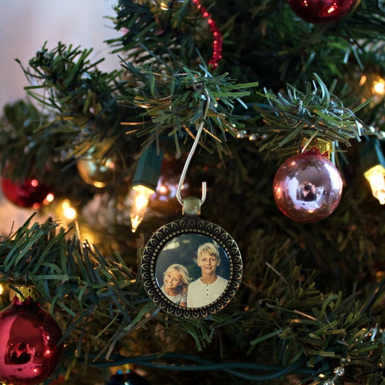 Photo Ornament Stocking Fillers Customized Gifts Stocking Stuffer Personalized Gift Ornament Stocking Stuffers Customized Ornaments
