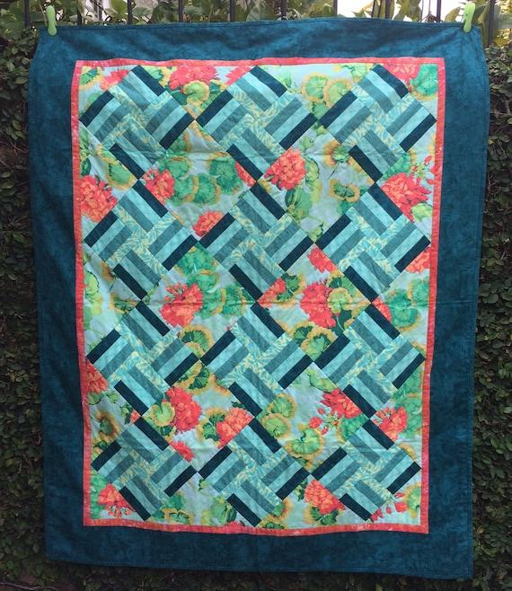 Lovely Lattice Quilt Pattern Pdf Instant Download Etsy