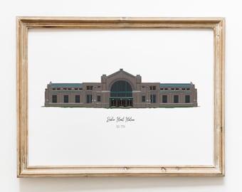 Baker Street Station - Fort Wayne Art Print