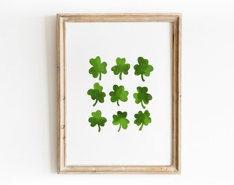 St. Patrick's Day Art Print - Hand Drawn Illustration