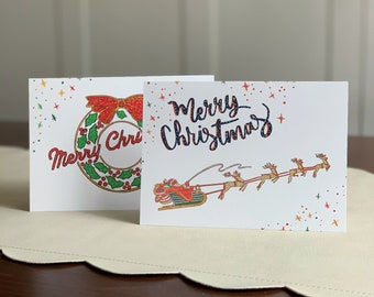 Christmas Cards + Envelopes (set of 2)